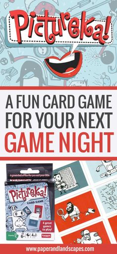 Pictureka Card Game - The perfect game for ANYONE that likes to laugh a lot! - www.PaperAndLandscapes.com