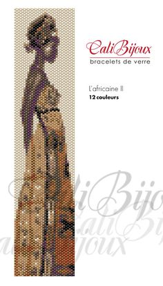 L'africaine 2 PATTERN by CALIBIJOUX on Etsy