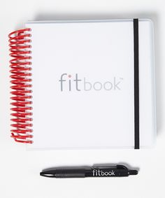 Fitness journal for tracking gym time and food