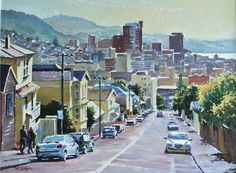 Phil Dickson - artist based in Lower Hutt Valley, Wellington, New Zealand Wellington New Zealand, Nz Art, New Zealand Travel, Street View, Gallery, Artist, Painting, Painting Art, Paintings