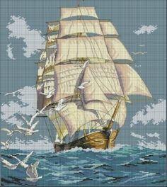 Clipper Ship Voyage