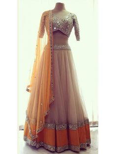 Beige And Yellow Color Net Lehenga ✔||COD AVAILABLE ||➟||✈FREE SHIPPING||✔ Special Price :- Rs. 3300 /- || Product Code :- DHRT6064 Order On Call :- 011-6565-8686 || Order On WhatsApp :- 08860106635