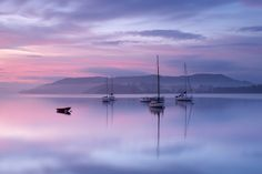 Lake Windermere Sunrise, Sunrise shot over Lake Windermere, Cumbria, UK.
