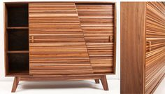#reclaimed wood furniture by Mitz Takahashi, so well made!