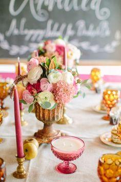 50 eindrucksvolle Tischdekorationen für Ihre Hochzeit: Stilvoll, frisch und modern! Image: 27