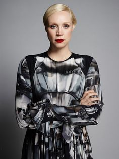 Star Wars Goes High Fashion: See Gwendoline Christie in a Captain Phasma-Inspired Gown