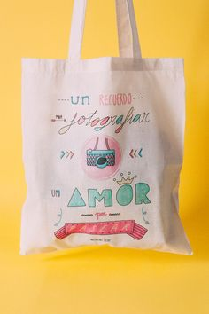 Shop and discover emerging brands from around the world Reusable Tote Bags, Shopping, Amor, Summer 2016