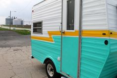 20+ Turquoise Painted Camper Exterior Inspirations
