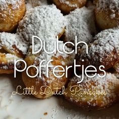 Dutch Poffertjes Recipe - Little Dutch Pancakes...