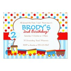 120 best train birthday party invitations images on pinterest