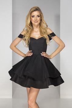 Sklep z sukienkami Talya stworzył model klasyczny ale i zarazem bardzo elegancki. Ta sukienka podkreśli Twoje kształty i pomoże Ci się poczuć wyjątkowo. #sukienka #sklep #internetowy #shop #dress Sansa, Black, Dresses, Fashion, Vestidos, Moda, Black People, Fashion Styles, Dress
