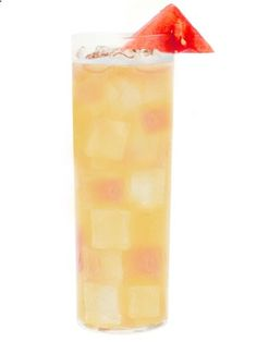 Pucker Watermelon Passion Spritzer Ingredients 1 ½partsPuckerWatermelon Wow Vodka 1 ½parts Passion Fruit Juice 2 1-inch Chunks of Watermelon Splash Lemon Sour Watermelon Ball Instructions  Muddle watermelon chunks in a shaker, add ice and remaining ingredients. Shake and strain over fresh ice in a highball glass. Garnish with passion fruit pulp and watermelon ball orchunk.