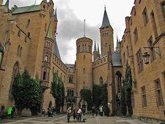 Hohenzollern Castle, Germany(by Silanov)