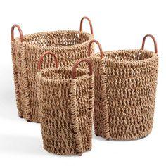Harris Baskets, Set of Three