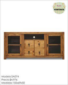 Muebles rústicos, convertidos en vintage!