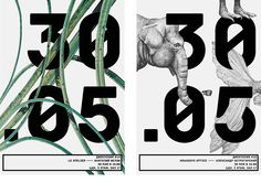 Posters for the project I DO on Behance