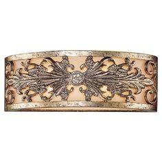 Metallic vanity light. Designed by Tracy Porter.   Product: Vanity lightConstruction Material: MetalC...