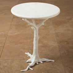 faux bois outdoor table