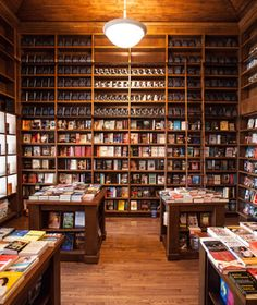 Books & Books, Coral Gables, FL  Shelves soar from wooden floors to timbered ceilings inside this 1920s-era Mediterranean-style building, where an array of art titles dominates about half the inventory. The store is one of a handful of Miami-area outposts of B, first opened in 1982 by Mitchell Kaplan, 2011 recipient of the National Book Foundation's prestigious Literarian Award. booksandbooks.com