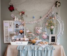 """Photo 1 of 27: Anthropologie and Shabby Chic Style / Baby Shower/Sip  See """"Anthropologie Chic Baby Shower"""" 
