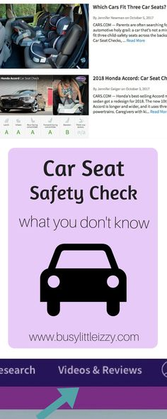 Car Seat Safety Check | What Your Don't Know About the Latch System | Travel Car Seat | How to buckle your child | Best car for an infant seat | best car for 3 car seats | How to install a carseat | {AD} #carseat #carscom #carseatsafety