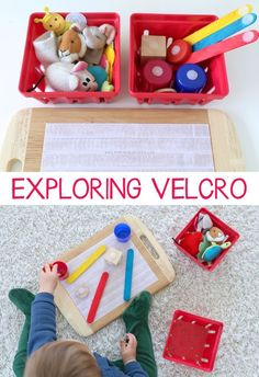Exploring Velcro Baby & Toddler Play | Mama.Papa.Bubba.
