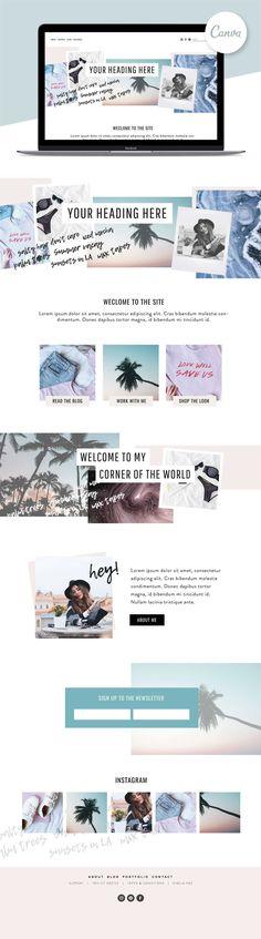 Agate | Website Design Kit by Big Cat Creative on @creativemarket | #squarespace #wix #wordpress #blogger | Website Template | Web Design Template | Web Design Kit | Blog Design Kit | Website Graphics | Web Design Inspiration | Portfolio | Squarespace Template | Wordpress Template | Wix Template | Blogger Template | Blog Template