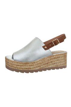 Sandale metalizate cu talpa ortopedica