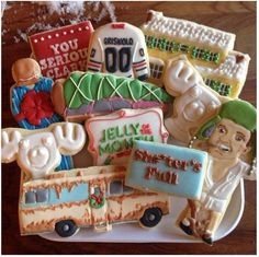 National Lampoons Christmas Vacation Cookies