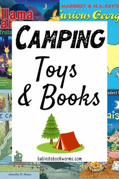 Explore and play pretend with these fun camping toys and books for kids! Nonfiction Books For Kids, Funny Books For Kids, Kindergarten Books, Preschool Books, Second Grade Books, Camping Toys, Book Reviews For Kids, Discovery Toys, Emotional Child