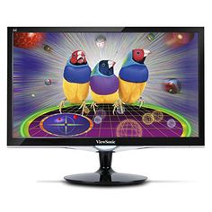 ViewSonic VX2452MH 24-Inch LED-Lit LCD Monitor, Full HD 1080p, 2ms, 50M:1 DCR, Game Mode, HDMI/DVI/VGA, VESA ViewSonic http://smile.amazon.com/dp/B00EZSUVHK/ref=cm_sw_r_pi_dp_gFKOub0P7J6NE