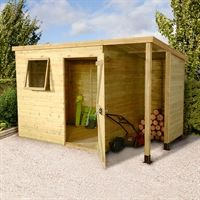 7x5 pent overlap shed pressure treated 26999 sheds pinterest gardens garden sheds and sheds - Garden Sheds 7x5
