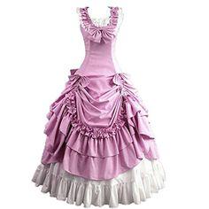 Partiss Damen aermellose Ballkleid gotische Lolita Abendkleid mit Bowknot fuer die Hochzeit Partiss http://www.amazon.de/dp/B00XOVDEPA/ref=cm_sw_r_pi_dp_kdaAvb0SWY182