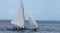 Local sailors off Union Island