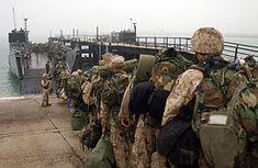 Kuwait Naval Base - Wikipedia Navy Base, Landing Craft, Military Operations, Us Military, United States Army, Coast Guard, Us Navy, Marines, The Unit