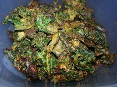 Dorito kale chips I made! The recipe is toward the bottom of this board.