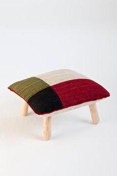 Color pouf. Mélange collection designed by Sybilla. @nanimarquina