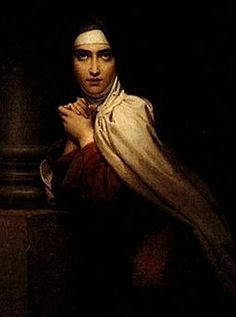 Teresa of Ávila by Francois Gerard ~  also calledSaint Teresa of Jesus, baptizedTeresa Sánchez de Cepeda y Ahumada, Mar. 28, 1515– Oct. 4, 1582. ProminentSpanish mystic,Roman Catholicsaint,Carmelite nun, writer of theCounter Reformation, &theologianof contemplative life throughmental prayer. She was a reformer of theCarmelite Order& founder of the Discalced Carmelites,along withJohn of the Cross.