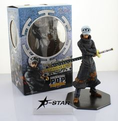 """34.99$  Buy here  - """"Free Shipping Cool 9"""""""" One Piece P.O.P POP Shichibukai The Surgeon of Death Trafalgar Law After 2 Years PVC Action Figure Model"""""""