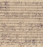 Handel's Messiah, in the hand of Beethoven, is one of the musical manuscripts held by the Karpeles Library