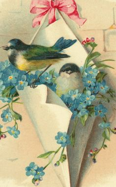 Bluebird's http://www.pinterest.com/bingbean/little-bird/