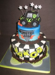 Monster Jam  Cakes By Ruthie