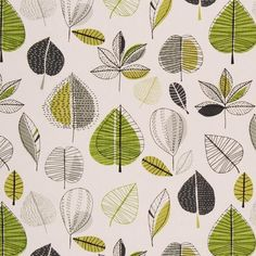 Maple Curtain Fabric Lime mid-century modern inspired : Maple Curtain Fabric…I remember this one! Might have been in the living room, lol! Curtain Texture, Curtain Fabric, Retro Pattern, Green Pattern, Bedroom Wallpaper Retro, Textile Patterns, Print Patterns, Textiles, Pattern Print