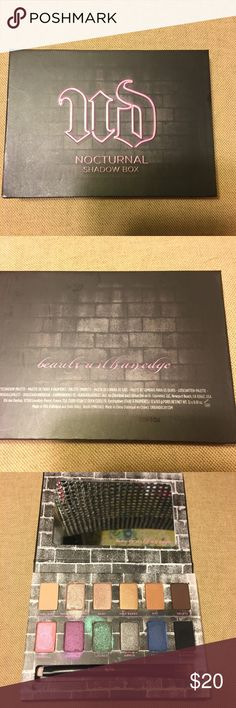Urban Decay Nocturnal Shadow Box Urban Decay Nocturnal Shadows Box  Used 3-4 times  100% authentic  Does include brush and original box   No trades Urban Decay Makeup Eyeshadow