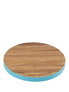 wooden round cutting board - Kate Spade New York