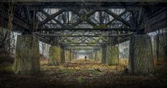 Photograph Under the Trusses by Bill Currier on 500px