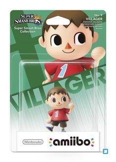 Amiibo Villager 09 - WII U - Référence Gaming