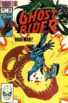 Cover for Ghost Rider (Marvel, 1973 series) #78 - March 1983