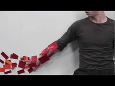 Guy Fighting PAPER,! Sick Stop Motion! WATCH