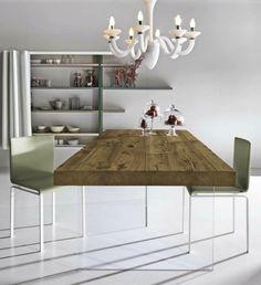 Rustikale Tische Bauholz-air tables-lago Esszimmer-Ideen